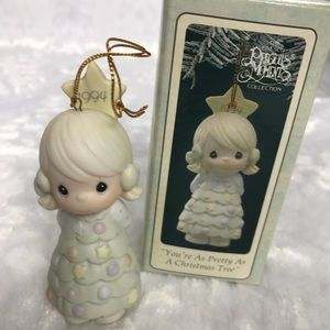 Precious Moments vintage 1994 porcelain Christmas